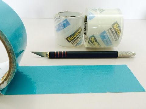 The Art of Clear-Taping (with NO air bubbles!)