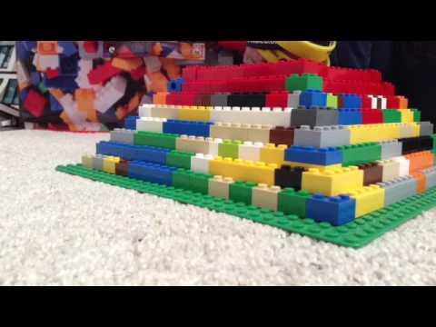 Building a Lego Pyramid Part 3