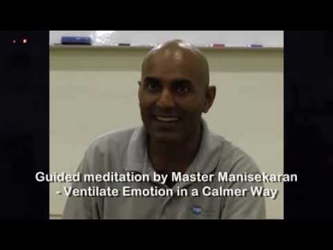 Meditate on how to Ventilate Emotion in Calmer Way