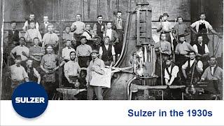Sulzer in the 1930s