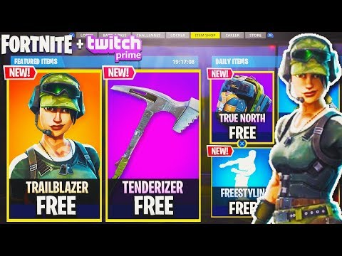 NEW Twitch Prime FREE SKINS in Fortnite! - Exclusive Twitch Prime Pack 2 - Fortnite Battle Royale