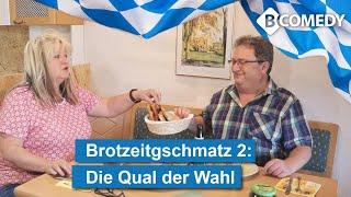 """Bayerischer Humor: Brotzeitgschmatz, Folge 2 """"Die Qual der Wahl"""" 2021"""