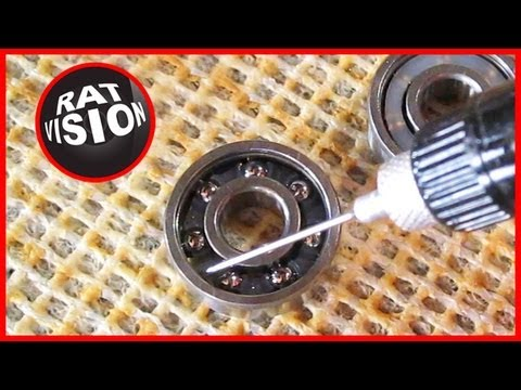 Clean Skateboard & Longboard Bearings CORRECTLY