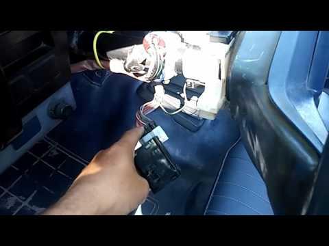 86 Nissan-D21 Signal Switch Fix