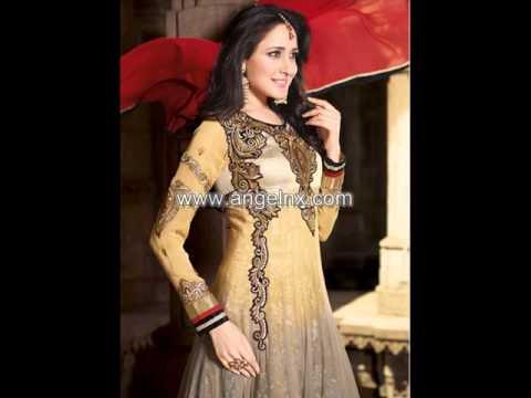 Buy Online Wedding Wear Long Anarkali Salwar Suits