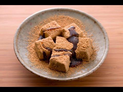Warabi Mochi Recipe - How to Make Warabi Mochi Japanese Confectionery Recipe