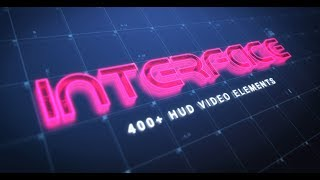 Interface: 400+ HUD Video Elements | RocketStock.com