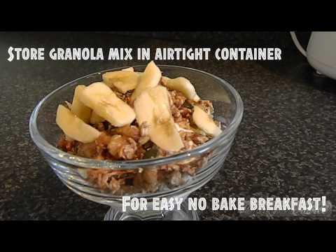 Paleo Bars | Healthy Granola Recipe | Paleo Cereal | Easy No-Bake Paleo Protein Bars - BuzzFeedBlue