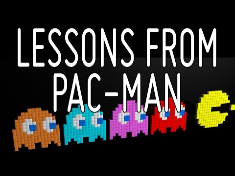 Game Design Lesson from Pac Man | Game Design Short Talk