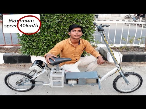 How to make electric bike speed 40kmph || Creative Science