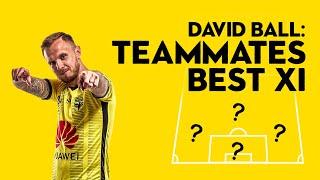 David Ball x TEAMMATES Best XI