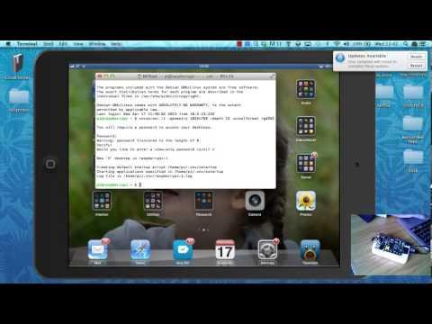 Raspberry Pi on iPad via Wifi