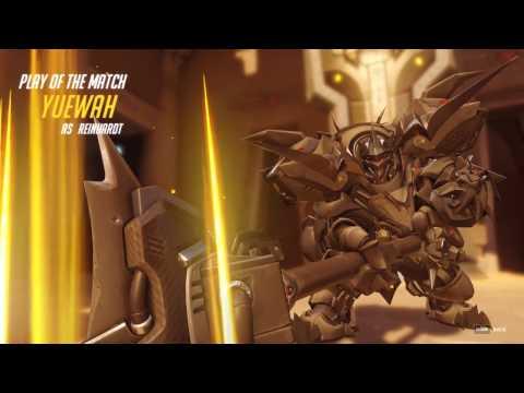 Overwatch - Play of the Game - YUEWAH - Stun Team Kill