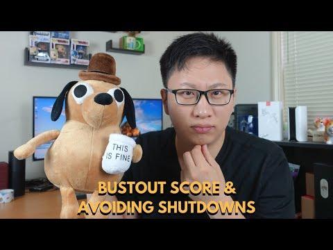 Avoiding Card Shutdowns: BustOut Score