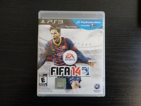 FIFA 14 Unboxing! (Pre-Order Bonus)