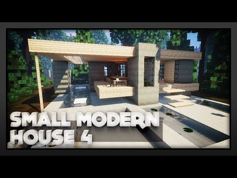 Minecraft - Small Modern House 4