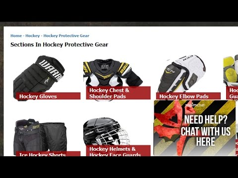 Hockey Protective Gear - Demonxtreme.com Website Section