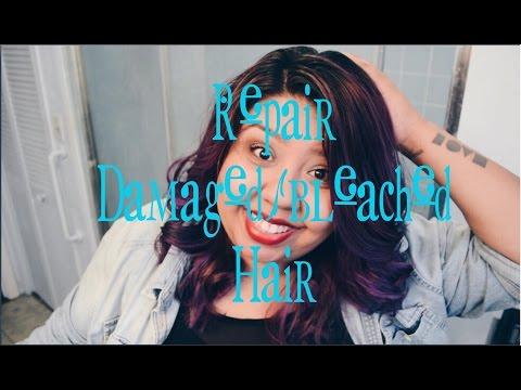 Repair damaged/bleached hair