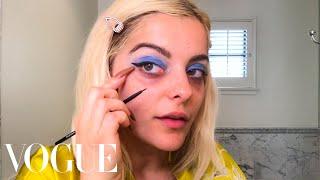 Bebe Rexha's Dark Circles Solution & Guide to Blue Eyeshadow   Beauty Secrets   Vogue