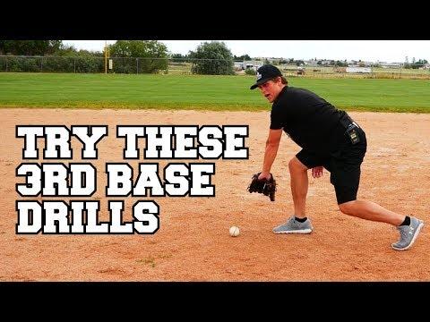 BEST Baseball Infield Drills For THIRD BASEMAN!