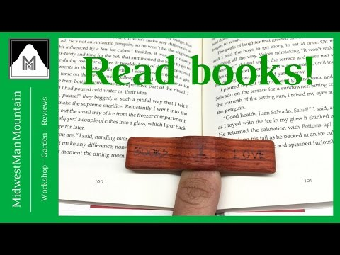 How to Make a Book Holder