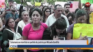 Catamarca se movilizó en pedido de justicia por Micaela Gordillo