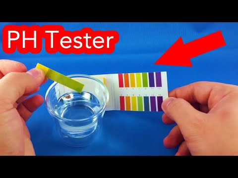 PH paper acid water tester from Aliexpress.com Unboxing