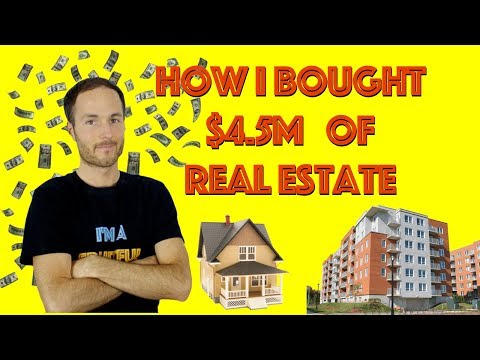 How I Bought OVER $4.5 MILLION Of Real Estate In 7 Years