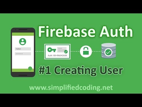#1 Firebase Authentication Tutorial - Creating User