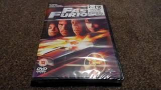 Fast And Furious (UK) DVD Unboxing
