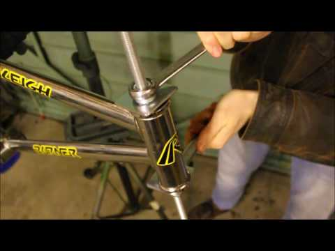 HOW TO MAKE A BICYCLE BEARING CUP PRESS