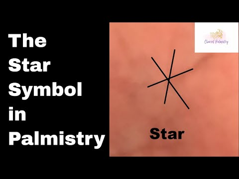 Indian Palmistry Symbols: The Star sign and Cross signs of Excess Energy