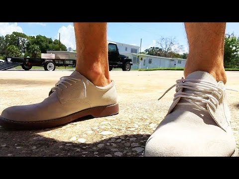 The Forgotten Shoe | How To Wear White Suede Bucks
