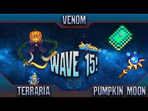 Terraria Pumpkin Moon Wave 15 (6000 Points): EndGame Summoner!