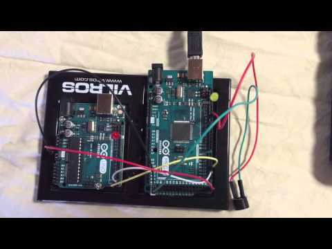 Hardware Serial to Serial Communication using Arduino Uno & Mega