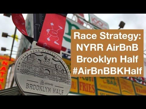 Race Strategy AirBNB Brooklyn Half