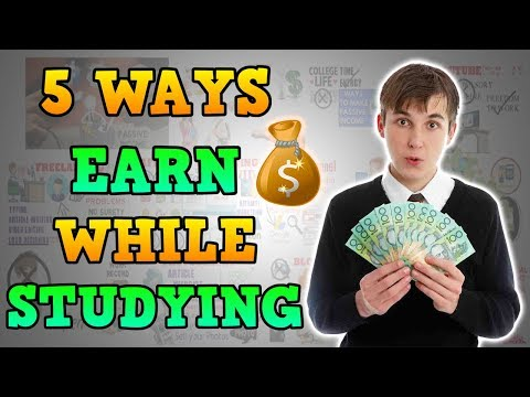 HOW TO EARN MONEY WHILE STUDYING - Motivational Video