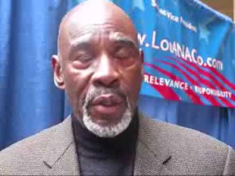 Chester Holmes Union County, NJ Freeholder endorses Lou Magazzu