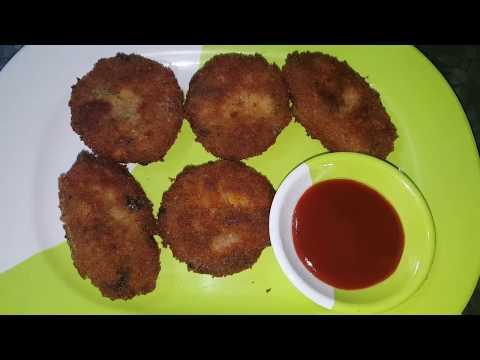 Chicken, Corn Cutlets (Ramzan Special)