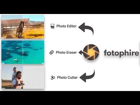 Edit Photos like a Pro | Wondershare Fotophire –Crop & Blur images, Remove & Change background