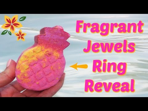 Fragrant Jewels Ring Reveal - Maui Aloha Bath Bomb!