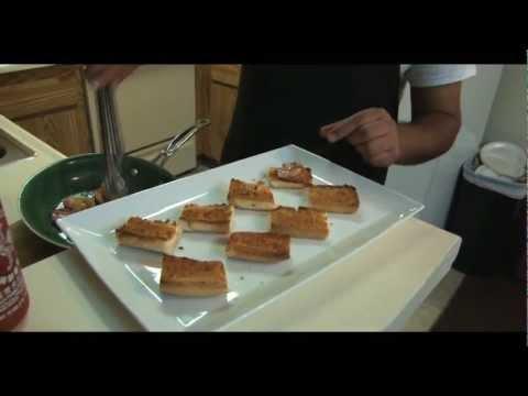 How to Make Shrimp and Sausage Crostini