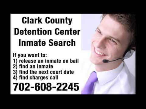 Clark County Detention Center Inmate Search