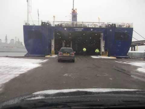 Commodore Clipper & Channel Islands Snow Storm