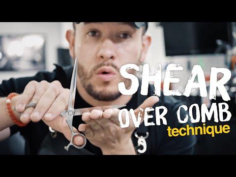 Shear Over Comb Technique 4K - Part 1