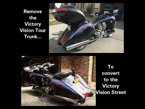 Add or Remove the Victory Vision Trunk. Convert the Victory Vision Tour into a Victory Vision Street