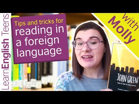Tips and tricks for reading in a foreign language