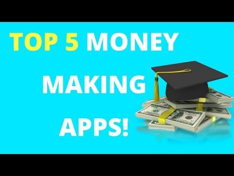 Top 5 BEST Money Making Apps 2018!