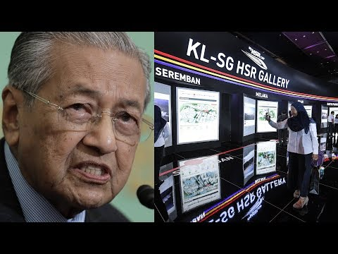 PM: KL-Singapore HSR project postponed, not scrapped