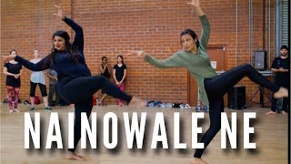 """NAINOWALE NE"" - Chaya Kumar and Shivani Bhagwan Choreography 